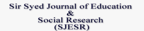 Sir Syed Journal of Education & Social Research